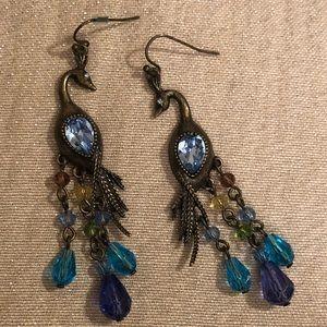 Jewelry - 🔷Peacock Earrings!🔷